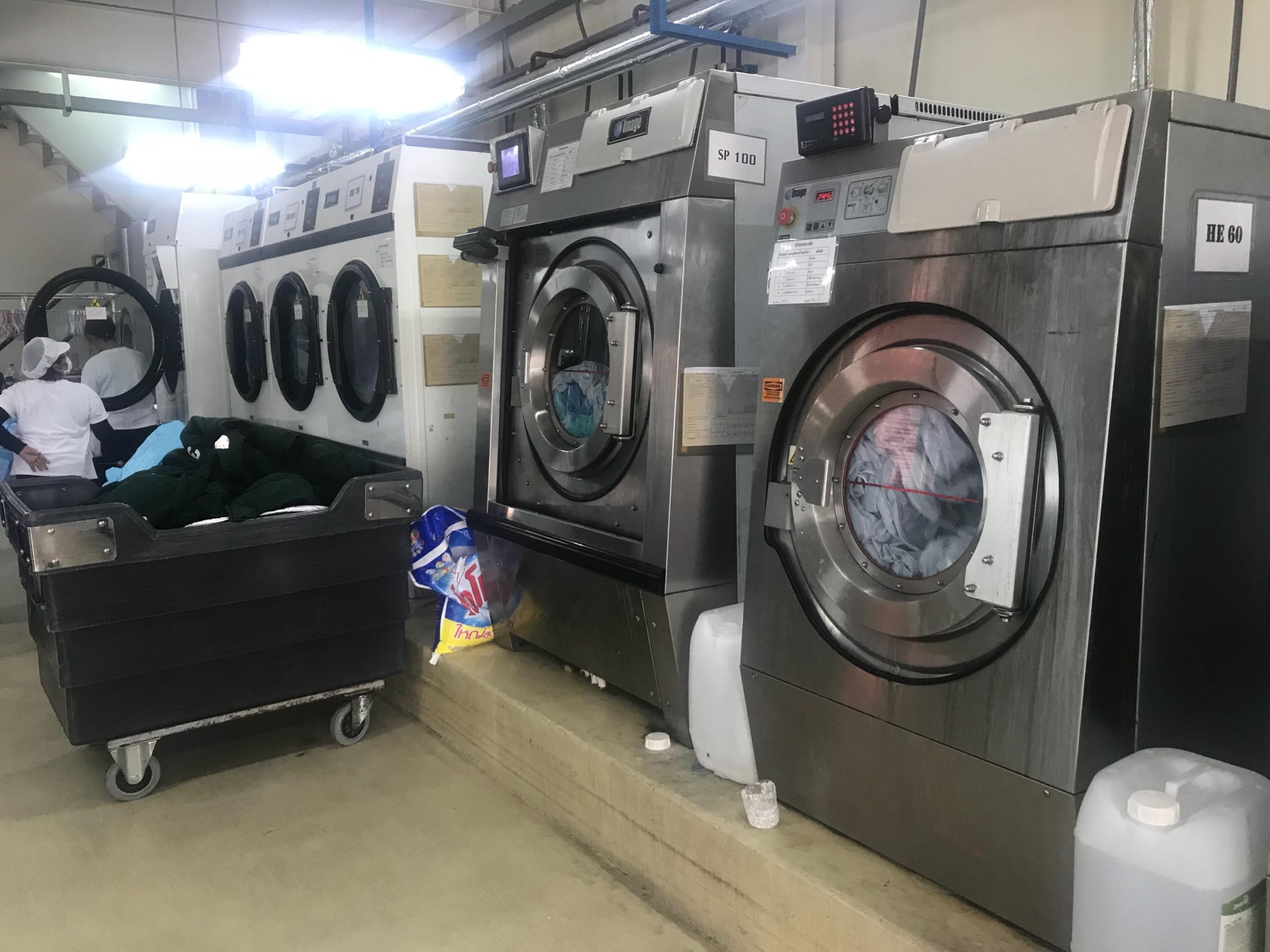Sửa máy giặt công nghiệp